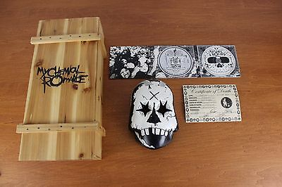 My Chemical Romance Black Parade Is Dead Limited Edition Box Set Frank Lero Mask