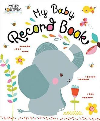 NEW My Baby Record Book By Veronique Petit Board Book Free Shipping