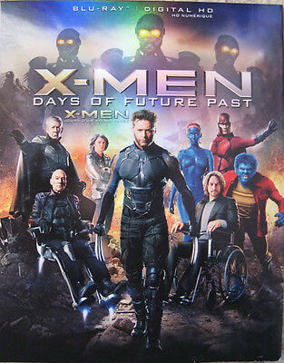 X-Men Days Of Future Past Canadian Slipcover Only No Discs Hugh Jackman Actor