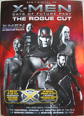 X-Men Days Of Future Past The Rogue Cut Slipcover Only No Discs Magneto Mystique