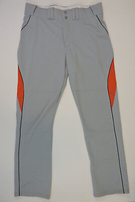 NEW Russell Athletic Men's Baseball Pants Gray 337LGMP Large (36 x 33) NWT