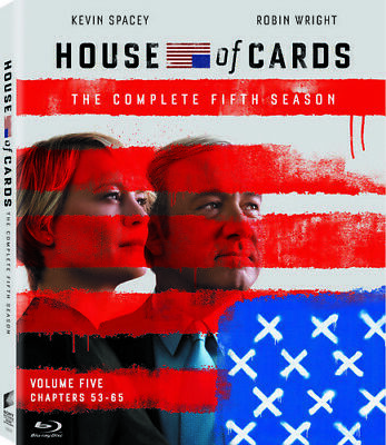 House Of Cards: The Complete Fifth Season Blu-ray (Boxed Set, UV Digital HD)