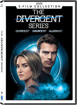 The Divergent Series 3-film Collection [New DVD] 3 Pack, Ac-3/Dolby Digital, D