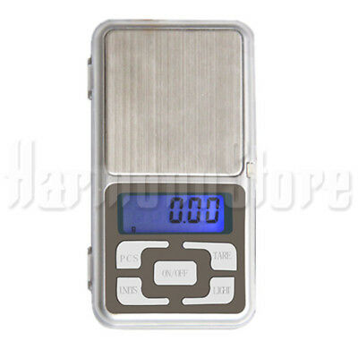 500g/0.1g Digital Scale Kitchen Jewellery Silver Weight Balance Pocket Size