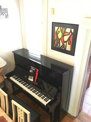 Yamaha U3 M upright Piano and stool