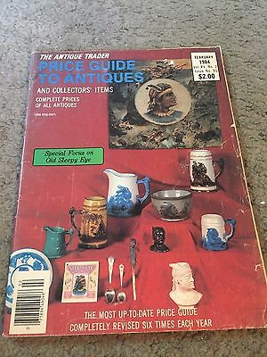 The Antique Trader Price Guide To Antiques Fall 1984 Magazine Vol. XV No. 1