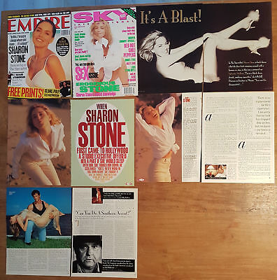 magazine clippings - SHARON STONE #03 - european