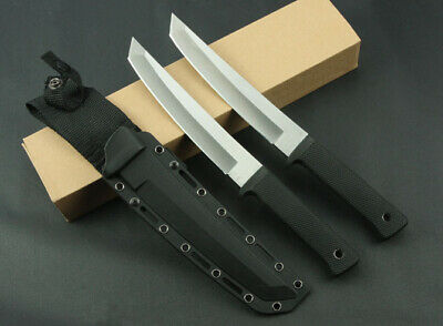 Sharp Full Tang Jungle Bowie Combat Rescue Tactical Survival Hunting Knife