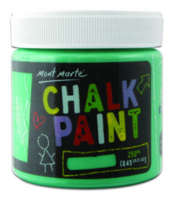 Mont Marte Chalkboard Paint 250ml Pot - Green