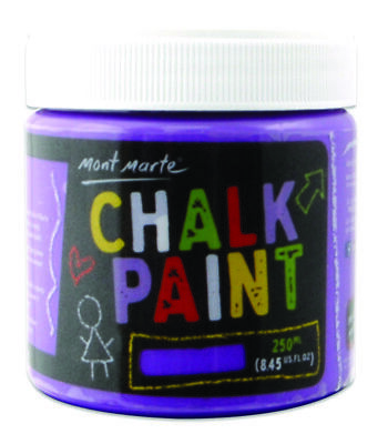 Mont Marte Chalkboard Paint 250ml Pot - Purple