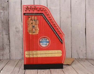 Vintage Jubel Tone zither, German zither, Children's zither