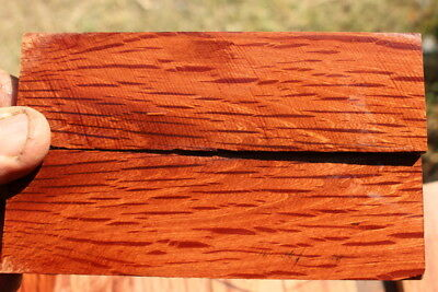 Australian Buloke Knife Handle Material Bookmatched Scales