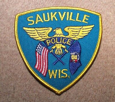 WI Saukville Wisconsin Police Patch