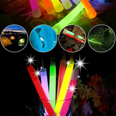 5Pcs Camping Travel Glow Light Stick Camping Party Favor Halloween Hanging Decor