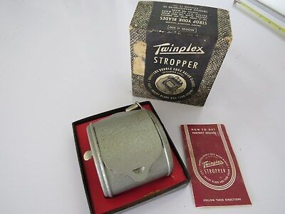 Vintage Twinplex Stropper G-200 In Original Box Clint Dunn Collection