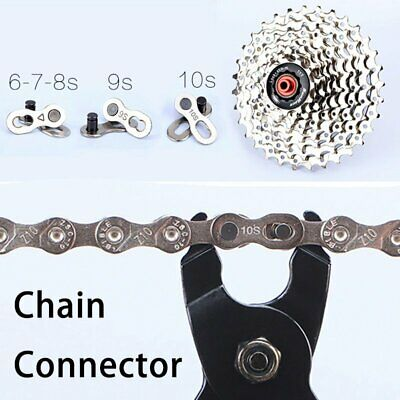 2 PAIRS Speed Missing Quick Link 6/7/8 & 9 &10 Magic Master Chain Join Connector