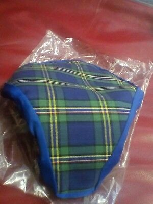 vintage cycle seat cover slip on new old stock 1960s , 70s