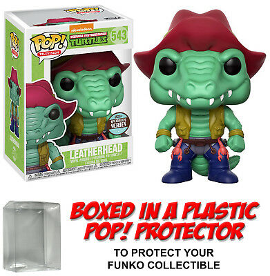 Funko POP! Television ~ LEATHERHEAD SPECIALTY SERIES FIGURE ~ w/Protective Case