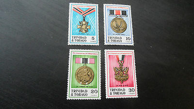 Trinidad & Tobago  1972 Sg 417-420 Tenth Anniv Of Independence  Mnh
