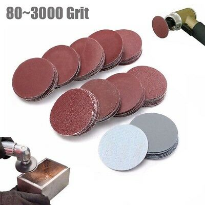 20pcs 2inch 50mm Sander Disc 40~7000 Grit Sanding Sheet Polishing Pad Sandpaper