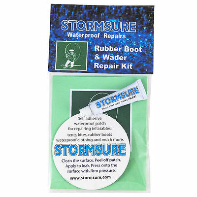 Stormsure Boot Welly Wellington Wader And Shoe Repair Kit - Glue And Patches