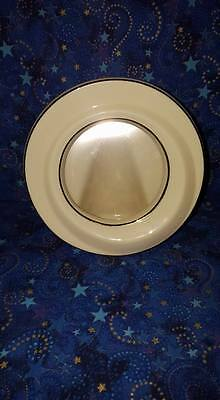 """Lenox 3"""" Round Porcelain Frame; Handcrafted in China"""