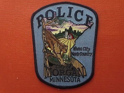 Collectible Minnesota Police Patch Morgan New
