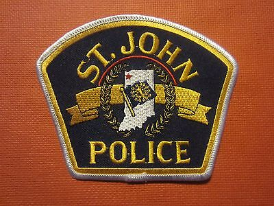 Collectible Indiana Police Patch St. John New