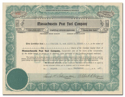 Massachusetts Peat Fuel Company (Norwood)