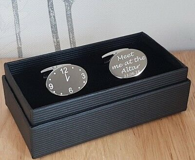 Cufflinks for Groom, Father of the Bride, Bestman - Personalised with Any Design