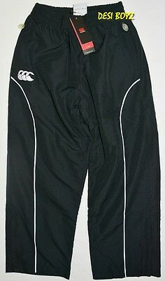 BNWT - Canterbury Kids Premier Track Pant Black - Size: 8 Years