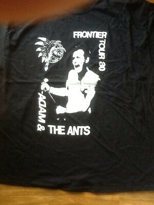 Adam And The Ants T Shirt 2xl