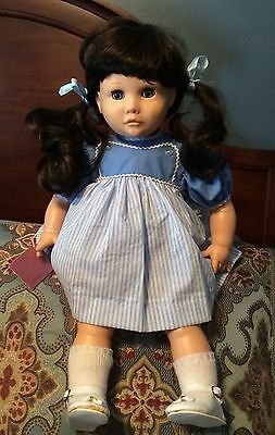 Vintage Suzanne Gibson Doll Reeves International Nib Nwt Tierney 24896 Doll