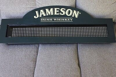 John Jameson Irish Whiskey Bar Pub Ad Everbright Sign Not Working Cool Anyway!