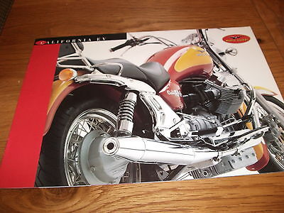 Moto Guzzi California Ev Brochure