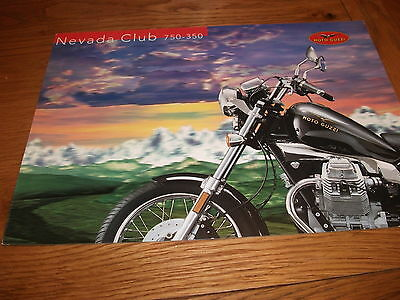 Moto Guzzi Nevada Club 750 / 350 Brochure