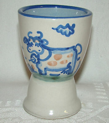 M A Hadley Cow Motif The End Double Egg Cup