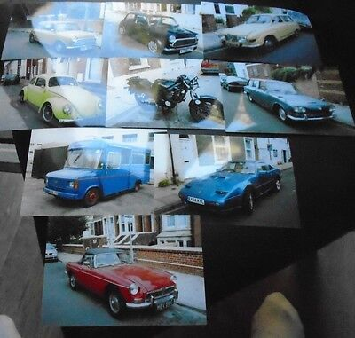 Job lot of 17 Older Cars/Bikes/lorries from 60's/70's