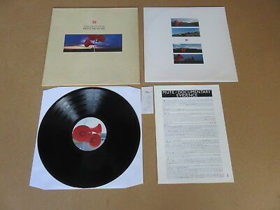 DEPECHE MODE Music For The Masses MUTE LP RARE ORIGINAL UK 1ST PRESSING & INSERT
