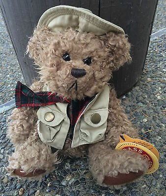 1 new Brass Button Collectables TANNER 1997 outdoor teddy bear Pickford Bears L