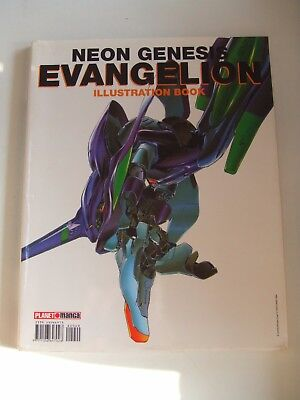 Neon Genesis Evangelion . Illustration Book . Planet Manga