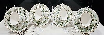 Crown Staffordshire Easter glory part tea set service wedding party cups saucers