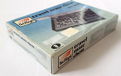 Travel Mate Chess - Scisys - Boxed Working *SPARES**