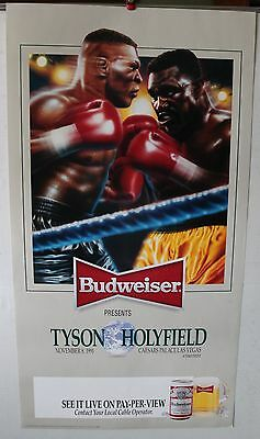 Boxing Poster: Mike Tyson vs Evander Holyfield I Las Vegas