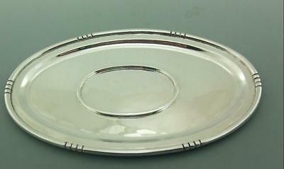 Vintage Solid Sterling Silver Tea Pot / Sauce Boat Stand Mexican 335 Gms
