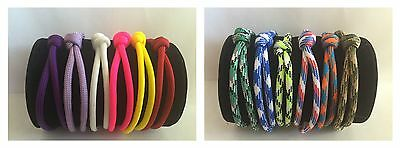 12 Paracord  Whelping ID Collars 6 Girl  Solids & 6 Boy Patterns In NB & Reg