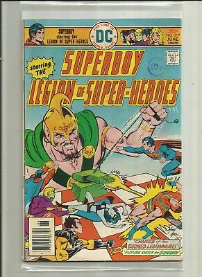 SUPERBOY # 217 (LEGION of SUPER-HEROES( JUNE 1976) DC Comics.