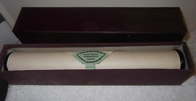A Vintage Piano Roll Full Scale No 20022 (Untested)
