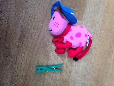 MCDONALDS / The Magic Roundabout Ermintrude Plush Toy 5""