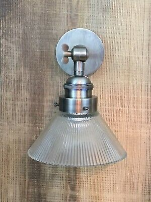 vintage style bathroom wall lights antique finish with holophane